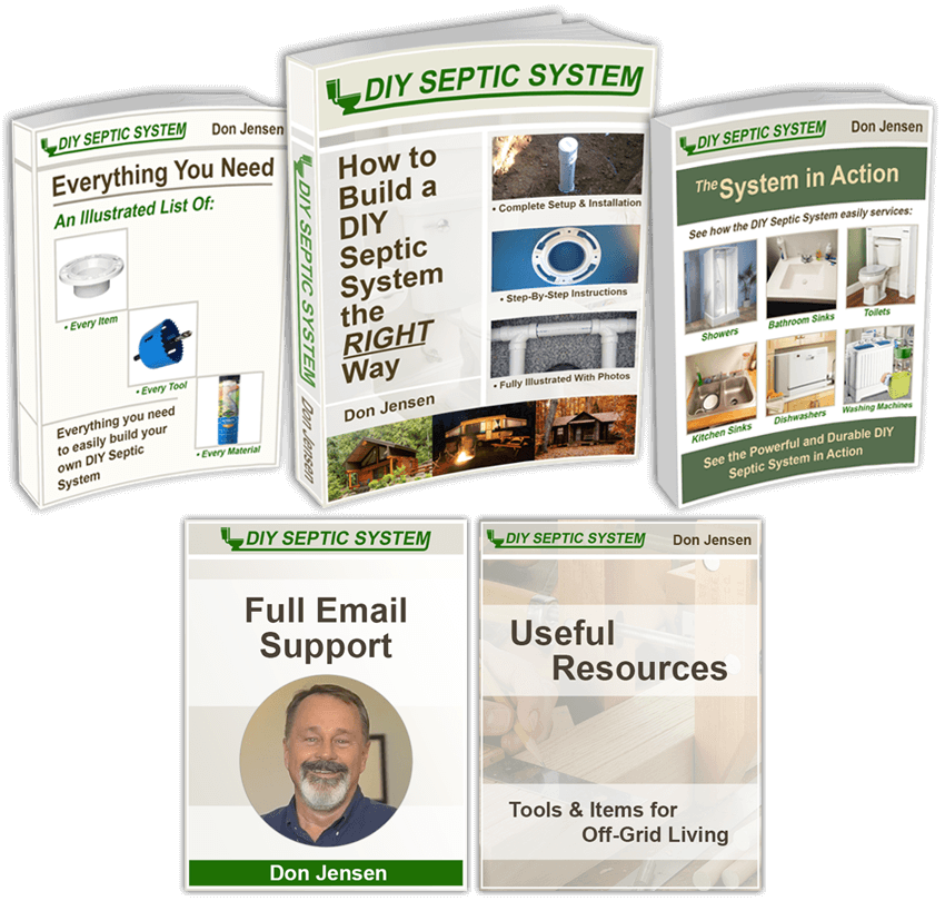 The DIY Septic System Book Set